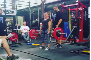 Deb P. Women Best Lifter